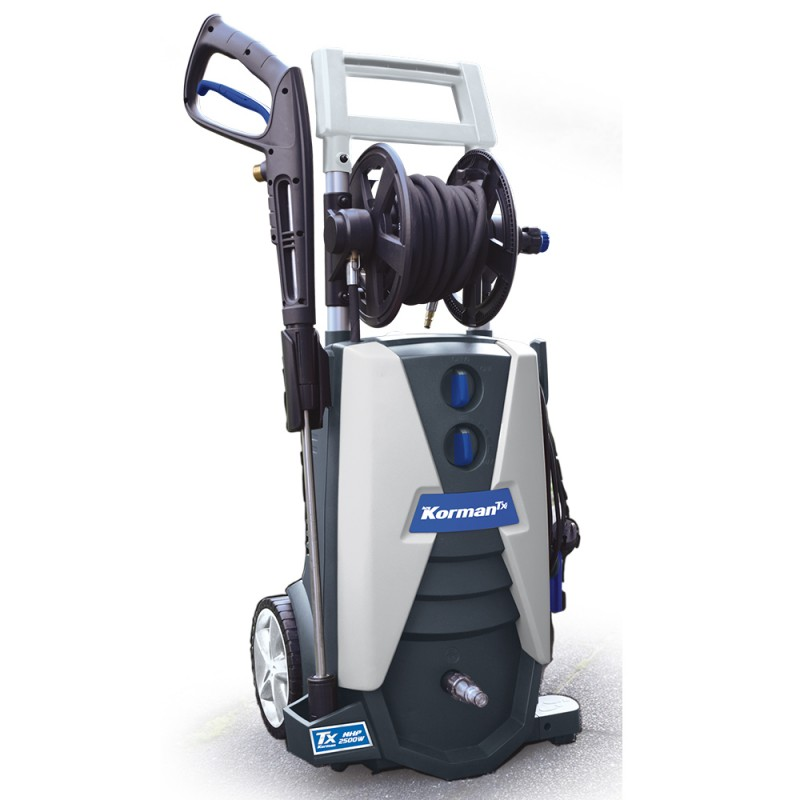Nettoyeur haute pression électrique 2500W 170 Bar  ( Aspirer/Nettoyer )  Korman.fr