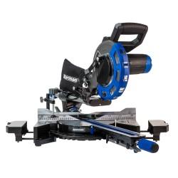 Scie à onglet radiale 2000W 210mm  ( Scie à onglet & support )  Korman.fr