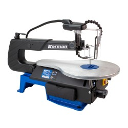 Scie à chantourner 120W 406mm  ( Outils d'atelier )  Korman.fr