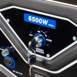 Groupe électrogène Essence 6500W à démarrage électrique  ( Groupes électrogènes )  Korman.fr