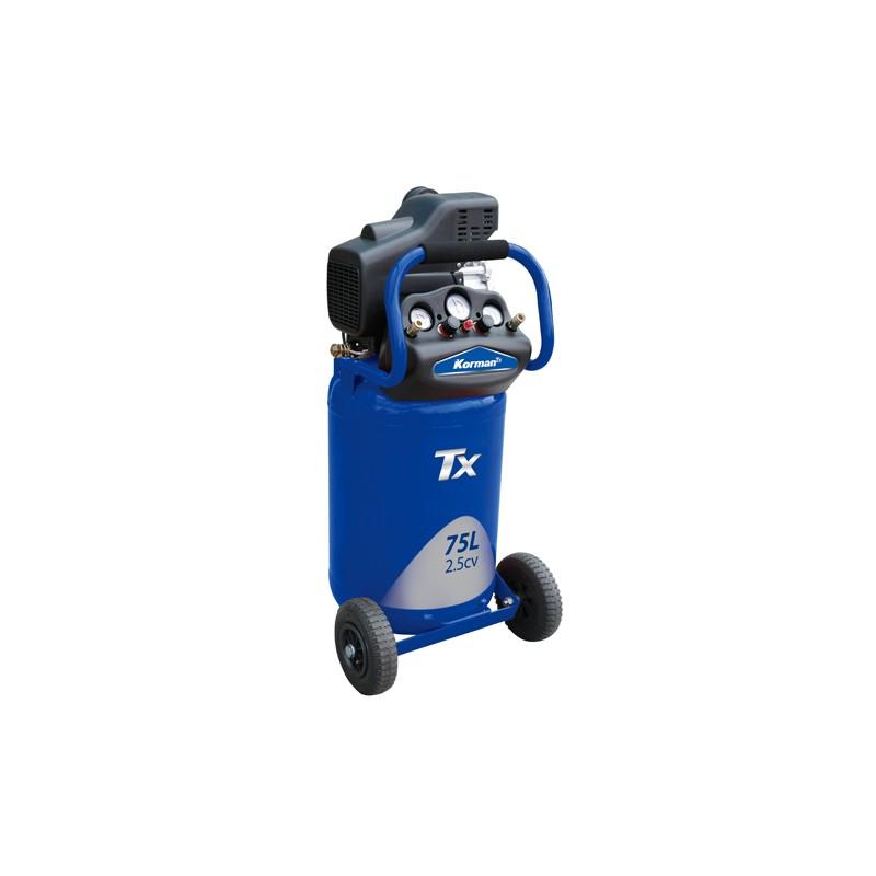Compresseur vertical coaxial 75L 2.5CV  ( Compresseur )  Korman.fr