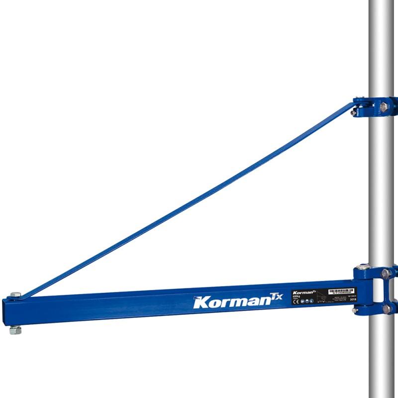 Support de palan électrique 600Kg - 750mm  ( Palan électrique et Etau )  Korman.fr