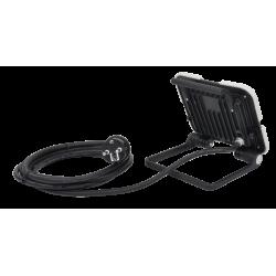 Projecteur de chantier portable à LED extra plat 30W - 4000K - 3000 lumens - IP65  ( Eclairage )  Korman.fr