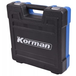 Pack 2 x 4.0Ah + Perceuse percussion 18V  ( Machines 18V )  Korman.fr