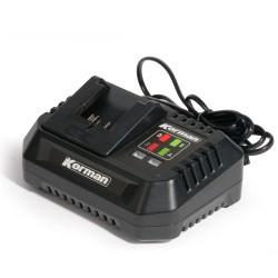 Chargeur rapide intelligent 4A pour batterie 18V  ( Batterie et chargeur )  Korman.fr
