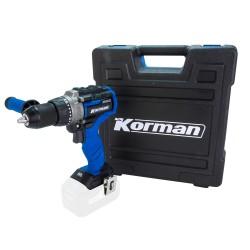 Pack 2x4.0Ah + Perceuse visseuse percussion 120Nm  ( Machines 18V )  Korman.fr