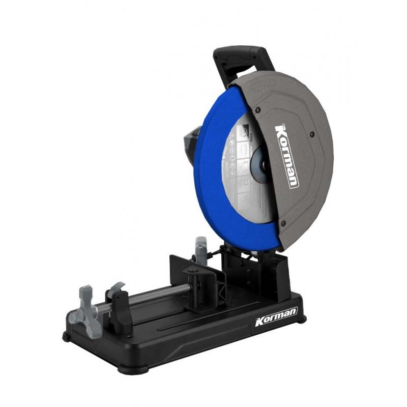 Tronçonneuse à métaux 2300W - 355mm  ( Tronconneuse à métaux et touret )  Korman.fr
