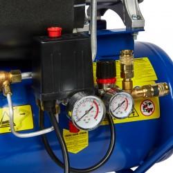 Compresseur Professionnel Bi-Cylindre en V 3CV 2200W 24L  ( Compresseur )  Korman.fr